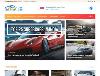 indyacars.com screenshot