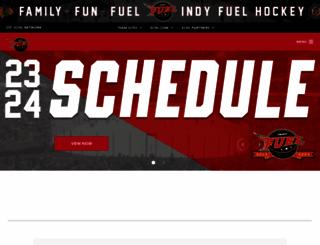 indyfuelhockey.com screenshot