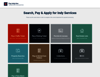 indygov.biz screenshot