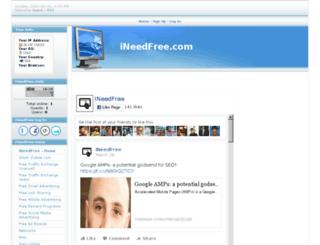 ineedfree.com screenshot