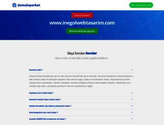 inegolwebtasarim.com screenshot