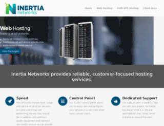 inertianetworks.com screenshot
