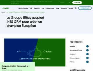 inescrm.fr screenshot