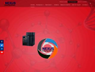inexusbio.com screenshot
