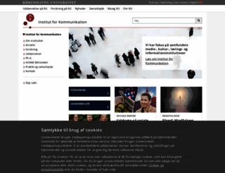 inf.ku.dk screenshot