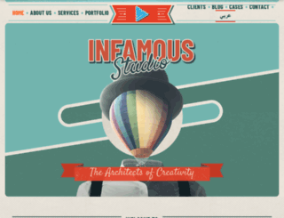 infamous.ae screenshot