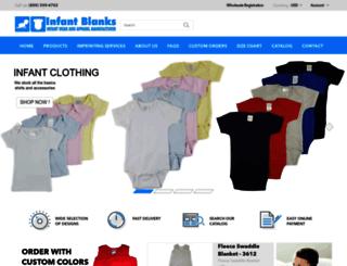 infantblanks.com screenshot