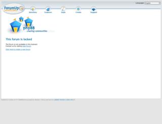 infernobianconero.forumup.it screenshot