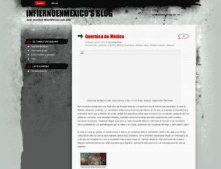infiernoenmexico.wordpress.com screenshot