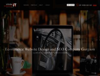 infiniteitindia.com screenshot