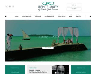infiniteluxury.com.br screenshot