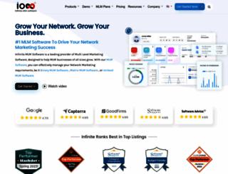 infinitemlmsoftware.com screenshot