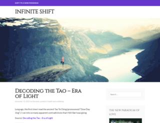 infiniteshift.wordpress.com screenshot