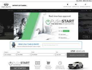 infinitioftampa.com screenshot