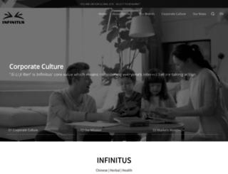 infinitus-int.com screenshot