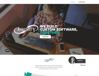 infinity-software.com screenshot