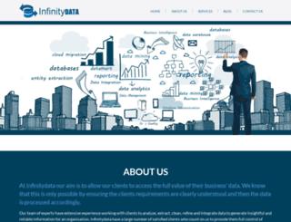 infinitydata.com.au screenshot