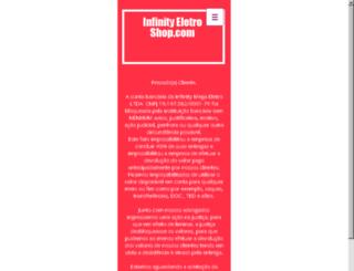 infinityeletroshop.com screenshot