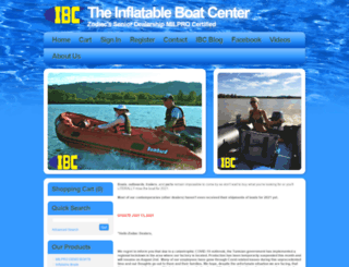 inflatableboats.com screenshot