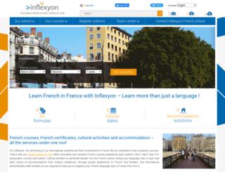 inflexyon.com screenshot
