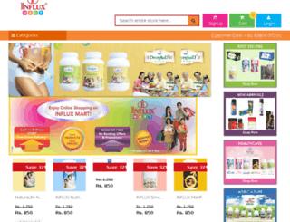 influxmart.com screenshot