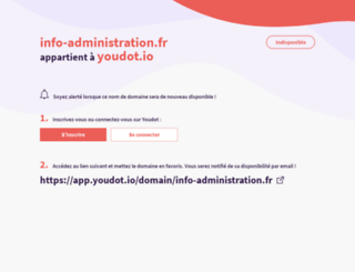 info-administration.fr screenshot