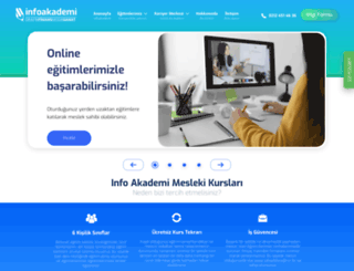 info-akademi.com screenshot