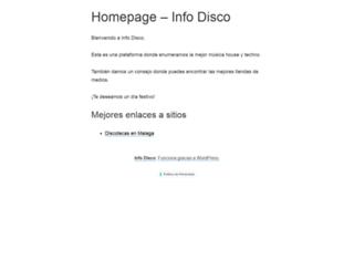 info-disco.com screenshot