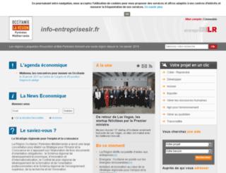 info-entrepriseslr.fr screenshot