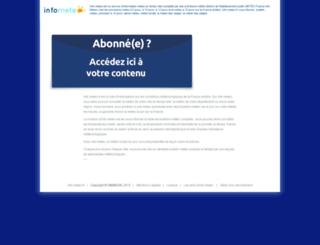 info-meteo.fr screenshot