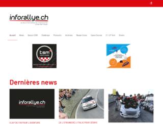 info-rallye.ch screenshot