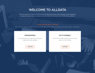 info.alldata.com screenshot