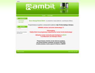 info.ambit24.net screenshot