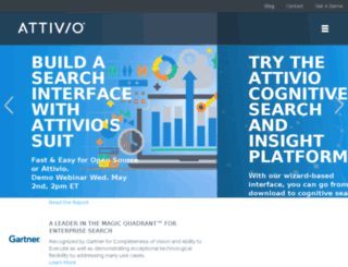 info.attivio.com screenshot