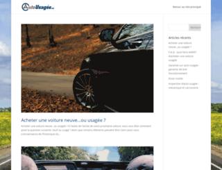 info.autousagee.ca screenshot