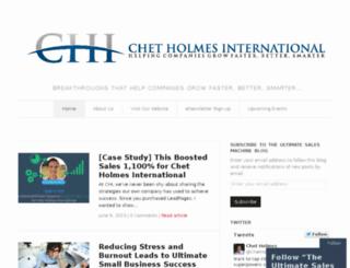 info.chetholmes.com screenshot