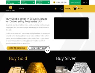 info.goldcore.com screenshot