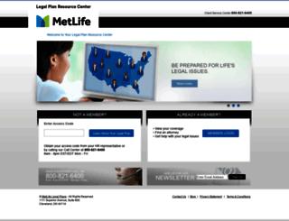 info.legalplans.com screenshot