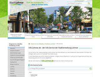 info.lohmar.de screenshot