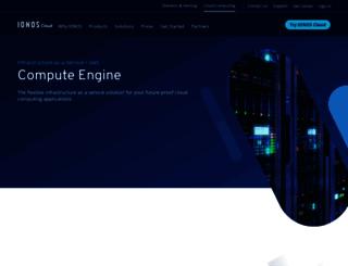 info.profitbricks.com screenshot