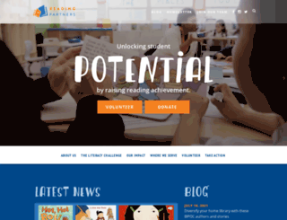 info.readingpartners.org screenshot
