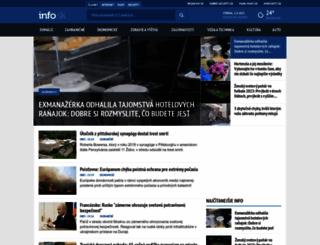 info.sk screenshot