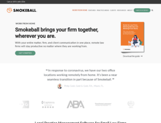 info.smokeball.com screenshot