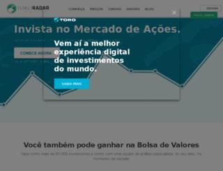 info.tororadar.com.br screenshot