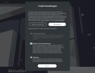 info.volkswagen.com screenshot