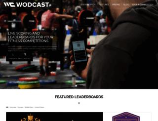 info.wodcast.com screenshot