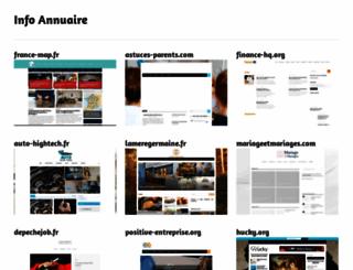 infoannuaire.fr screenshot