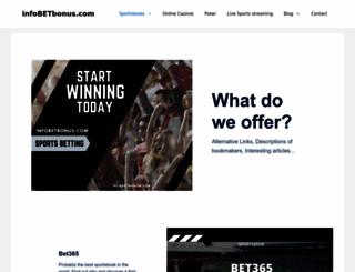 infobetbonus.com screenshot