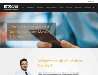 infocare.se screenshot