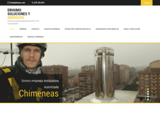 infochimeneas.com screenshot